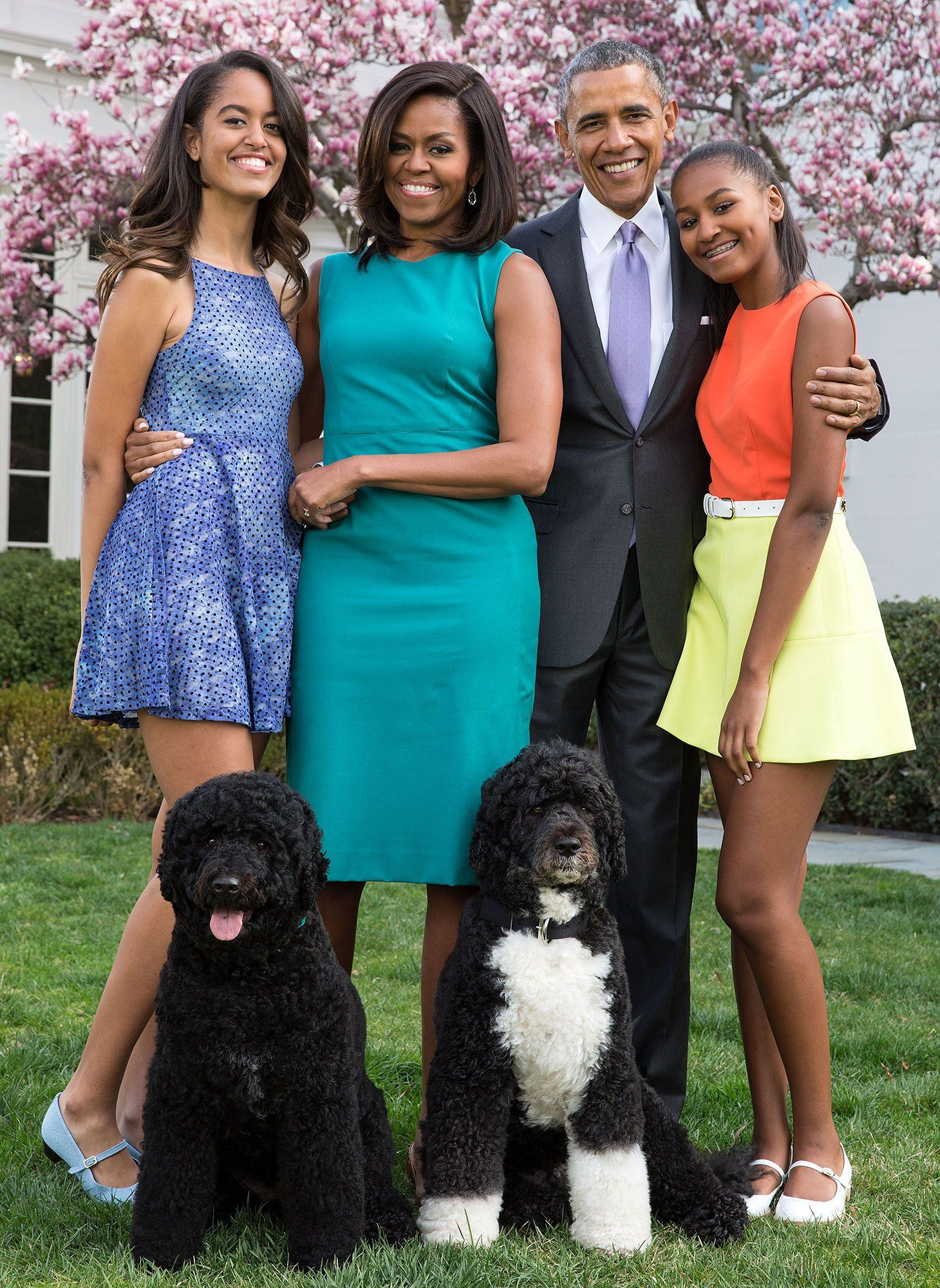 POTUS Pet Peeve: Sunny the Dog Likes Doing Her Business Right ...