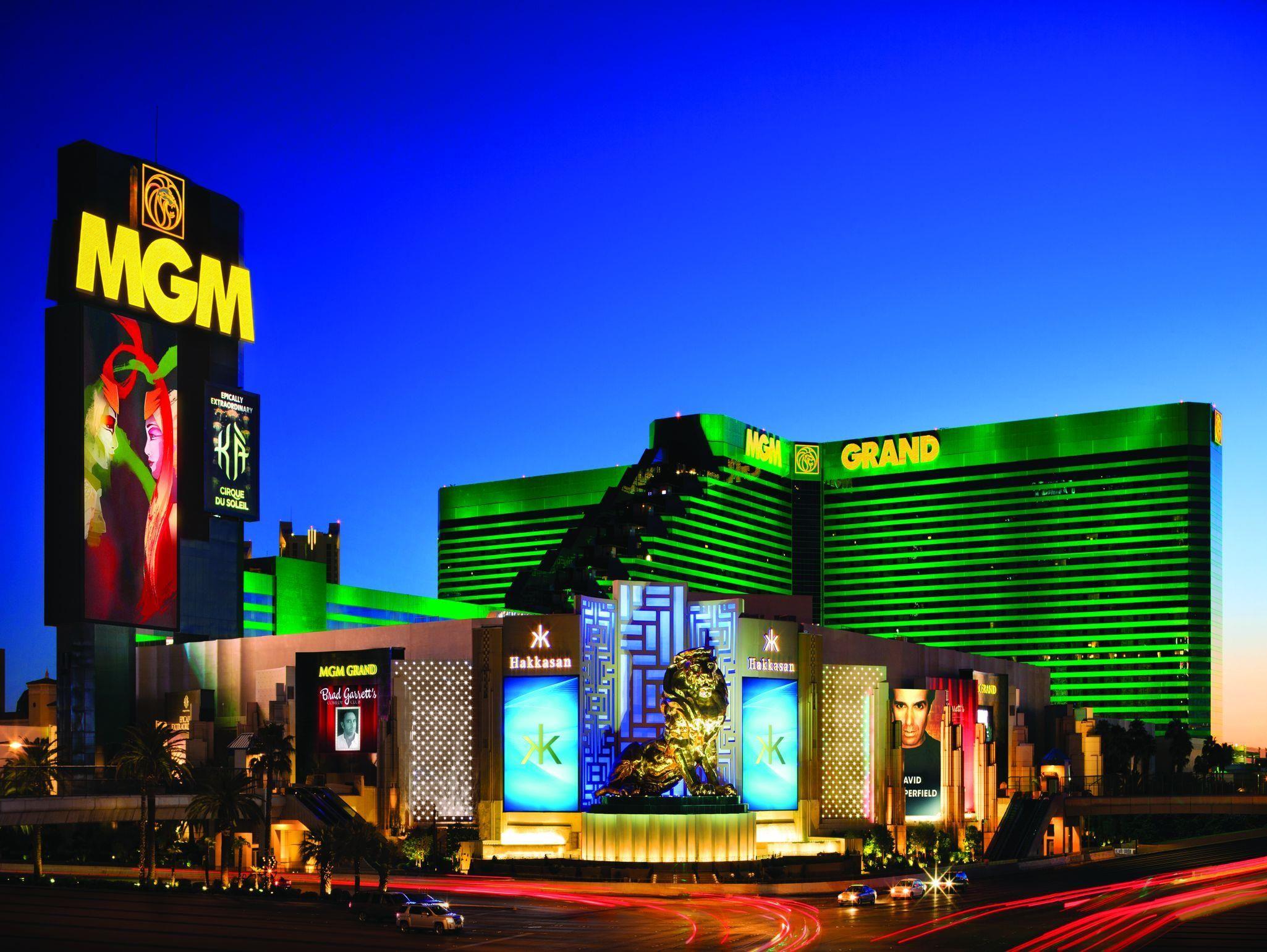 Las Vegas Nv Mgm Grand Hotel And Casino United States North