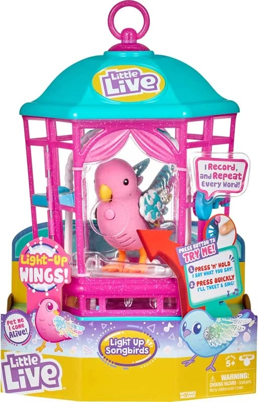 Little live lightup songbirds cage s9 Little live pets