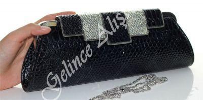 Photo of www.gelincealisve … black evening bag, evening bag, clutch …