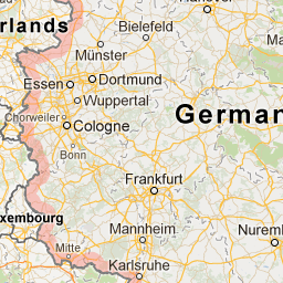 Germany - Google Maps | Oh, the places I\'ve been... | Germany, Map ...