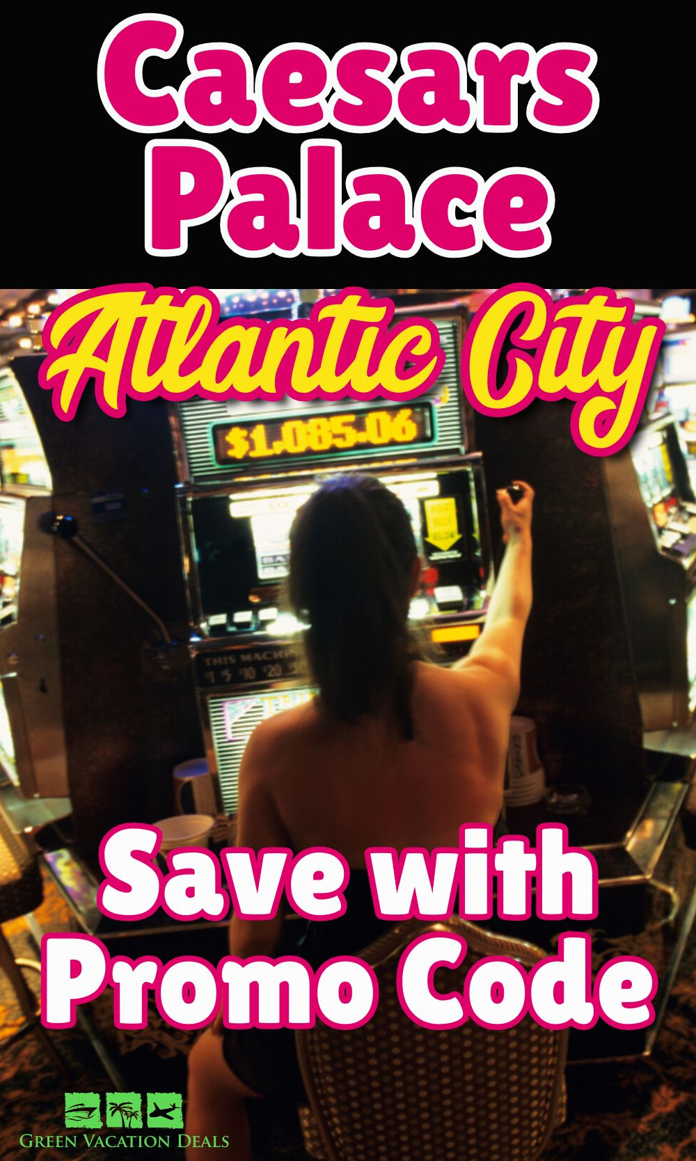 Have an amazing vacation at Caesars Palace in Atlantic City! Find out many ways to save on your hotel stay with discounts & promo codes. Great travel deals #CaesarsPalace #AtlanticCity #NJ #NewJersey #Jersey #casino #casinoresort #hoteldeals #traveldeals #travelhacks #traveltips #hotelsale #travelsale #luxuryresort #summervacation