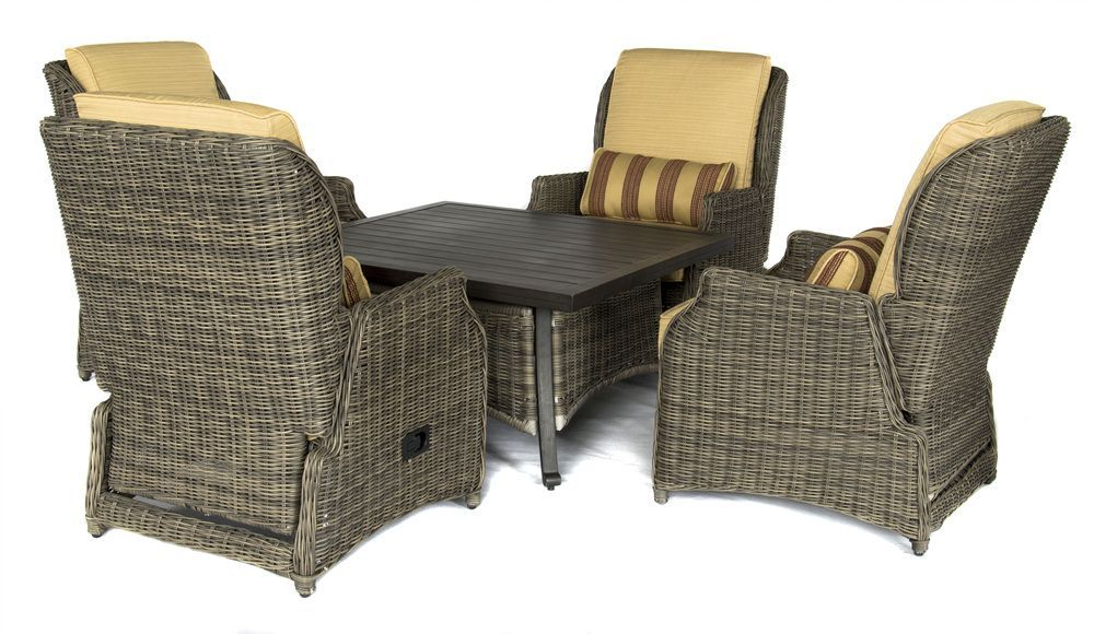 5 piece cordelia chat set this comfortable chat set includes 4 rh pinterest com