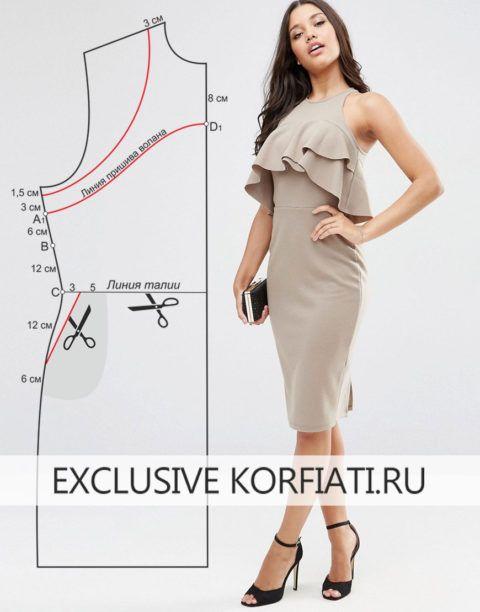 выкройка для платья пинап « investmentpropertiesmexico.ru