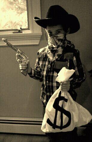 Cowboy Bank Robber Costume Kids Amp Their Toys Pinterest