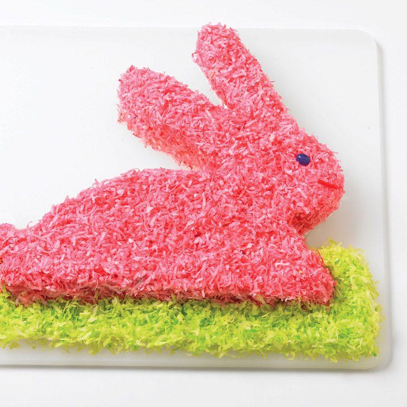 Bunny Cake, Rum Cake, Neon Food Coloring