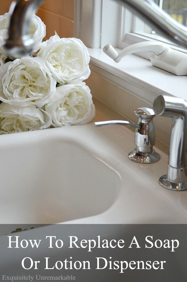 How To Replace A Soap Dispenser In The Kitchen Kitchen Faucet