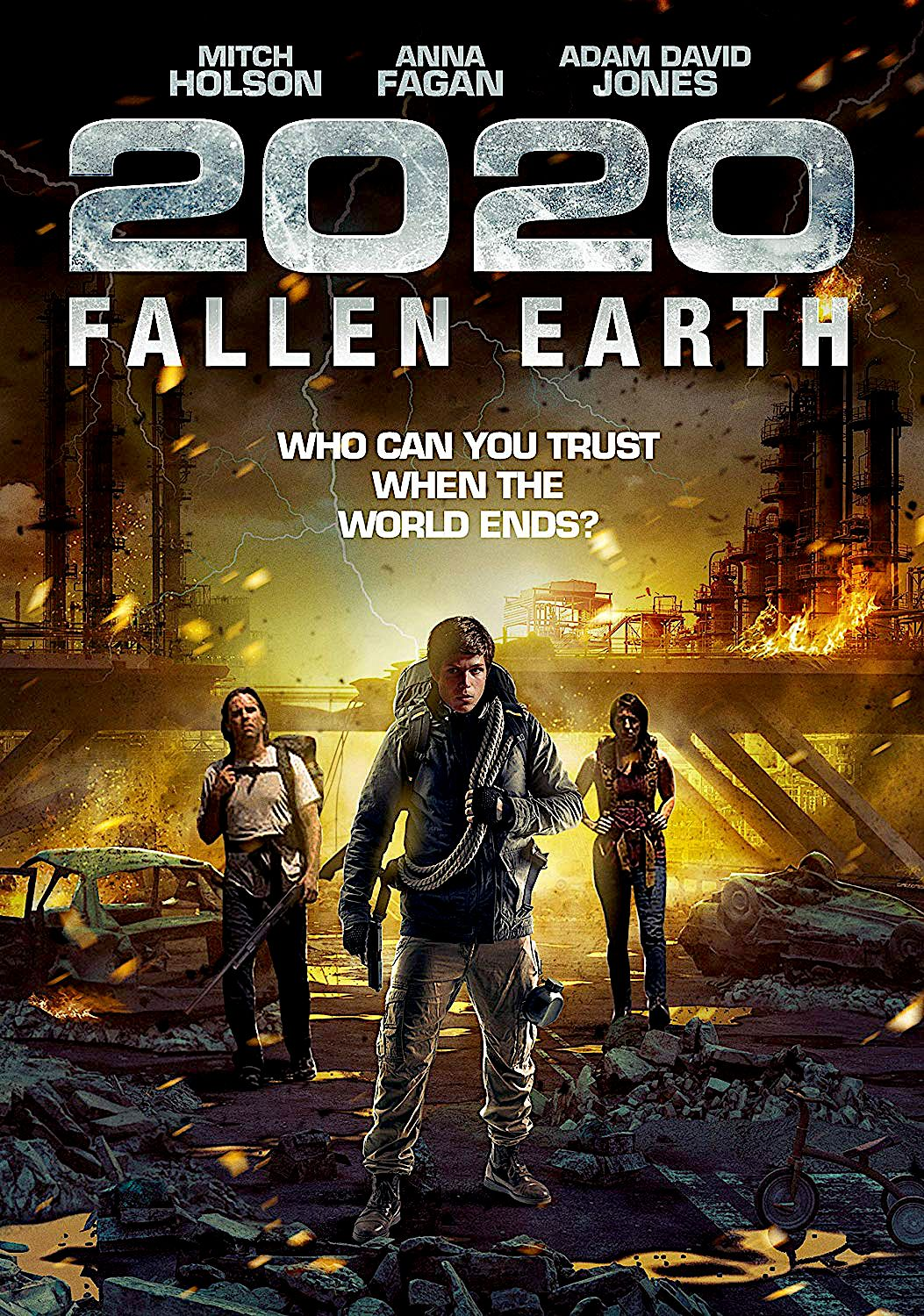 2020 Fallen Earth Dvd Wild Eye Releasing Wild Eyes End Of The World Horror Movies