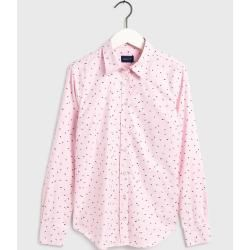 Photo of Gant Oxfordbluse mit Druck (Pink) Gant