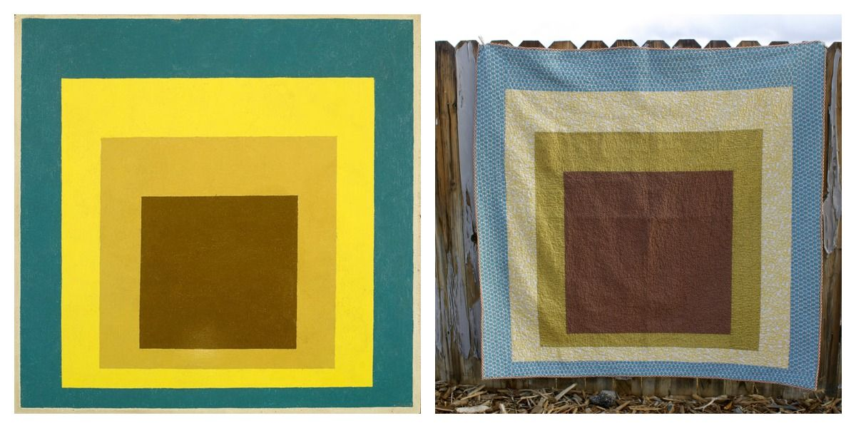 Quilts inspired by art