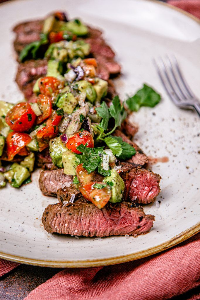 Recipe: Steak Fillet with Chunky Tomato Guacamole | BeastFeast