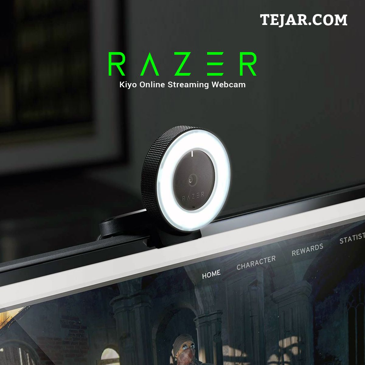 Designed And Tested By Top Streamers The Razer Kiyo Is A Desktop Streaming Camera With A Powerful Multi Step Ring Light That In 2020 Razer Online Streaming Streaming