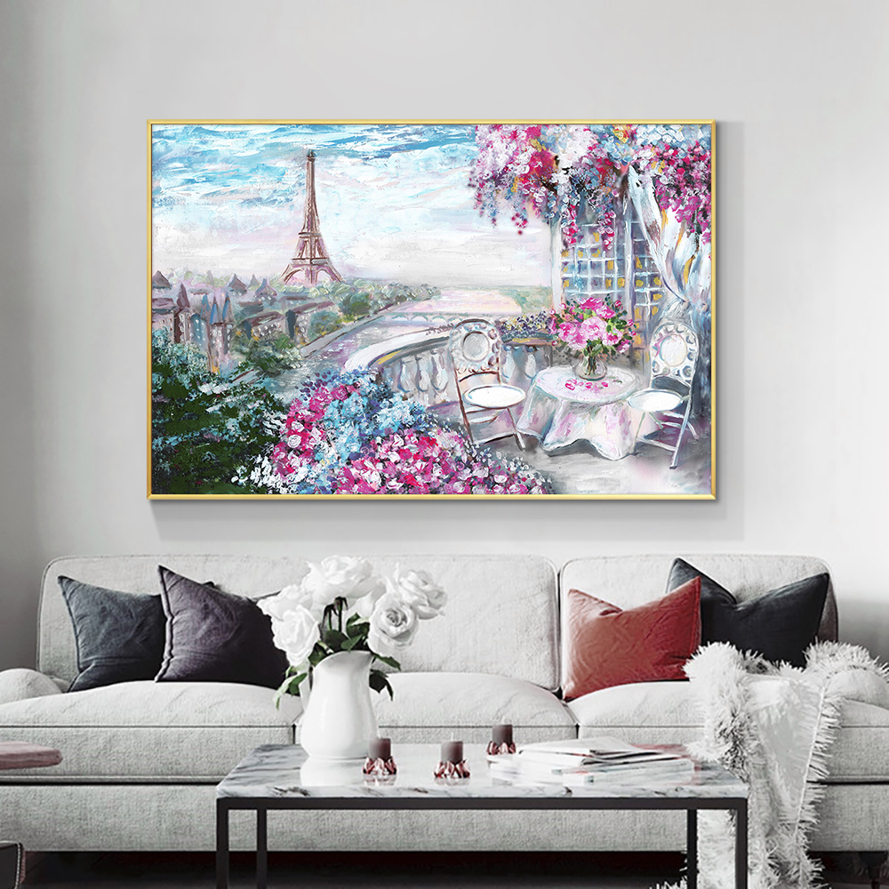 Abstract Painting on Canvas - Extra Large Wall Art, Contemporary Art, - Oilpaintingcenter