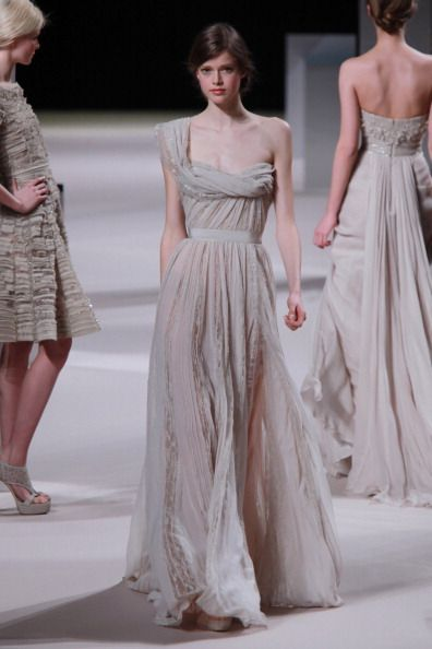 Which of These Over-the-Top Elie Saab Dresses Would You Wear as a Wedding Dress?: Save the Date