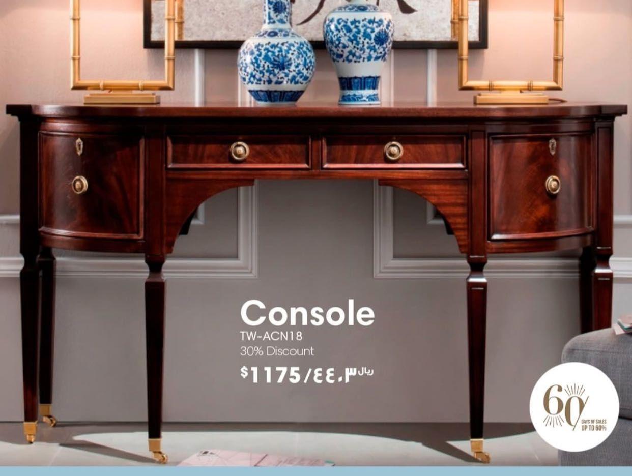 كونسول خشب Home Decor Entryway Tables Decor