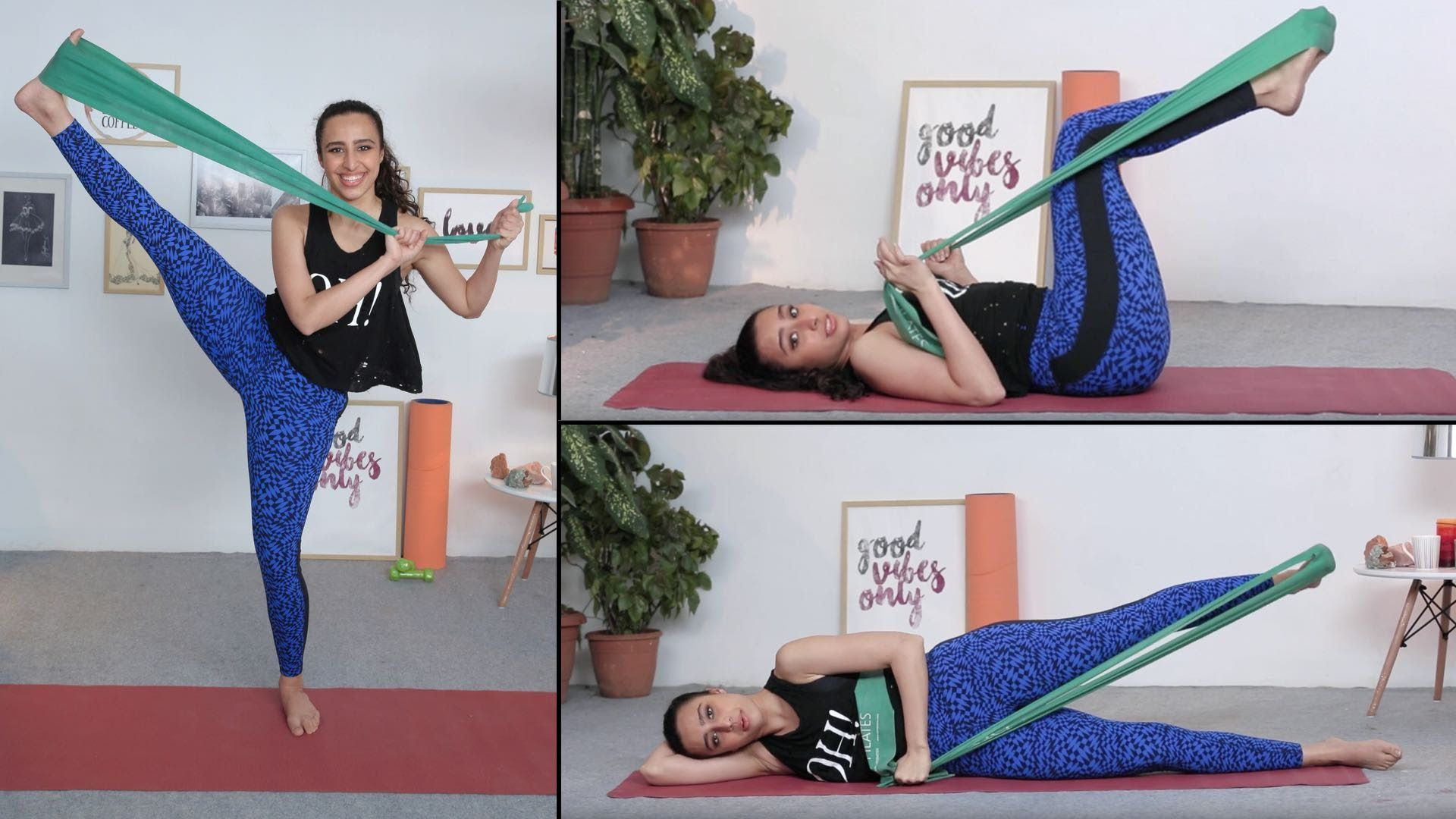 Full Body Workout Using A Great Flex Band Fitness With Namrata