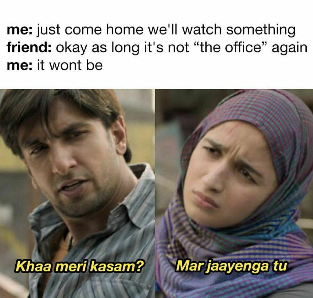 Pin by Ananya on t h e o f f i c e New funny memes