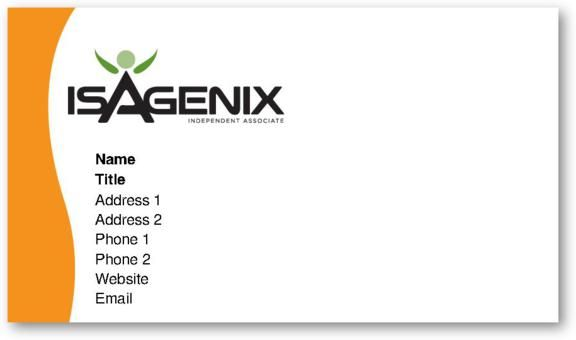 Check out our customized isagenix business cards isagenix sales check out our customized isagenix business cards colourmoves