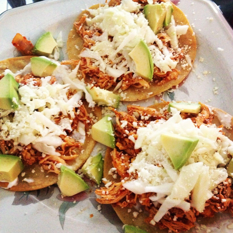 Tostadas de tinga  Mxico  Comida mexicana Comida y