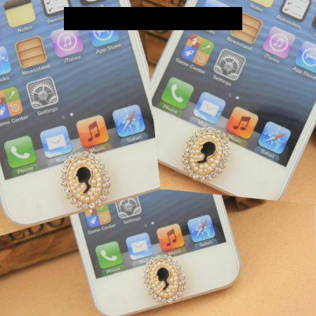 Anna Sui Home Button Apple