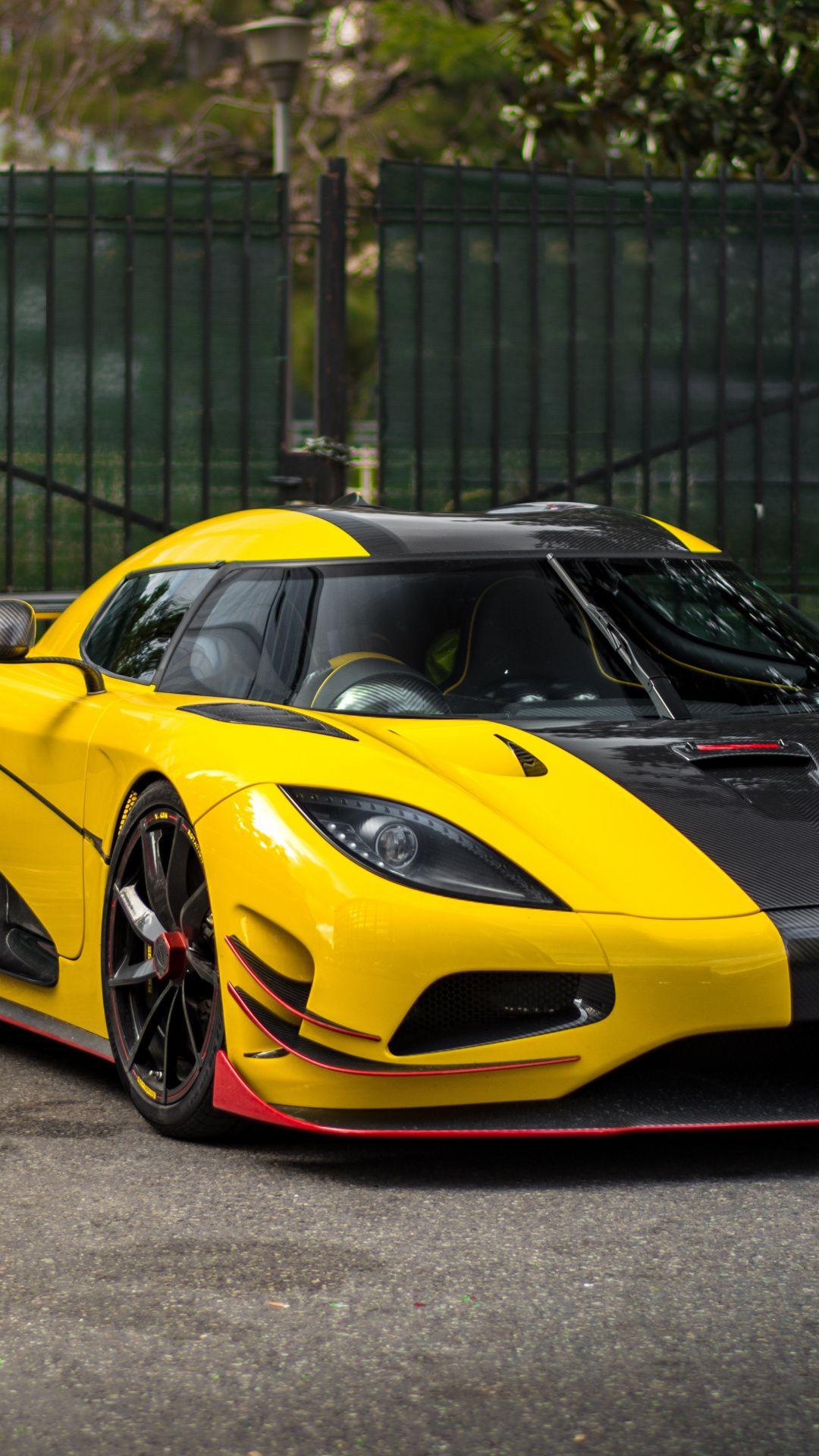 Sports Car Yellow Koenigsegg Agera Wallpaper Cars Pinterest