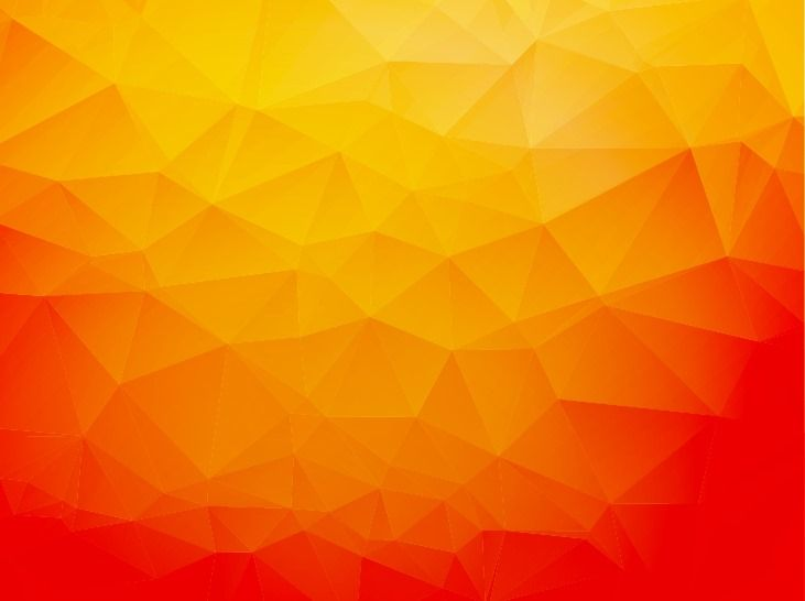 Orange Abstract Geometric Background
