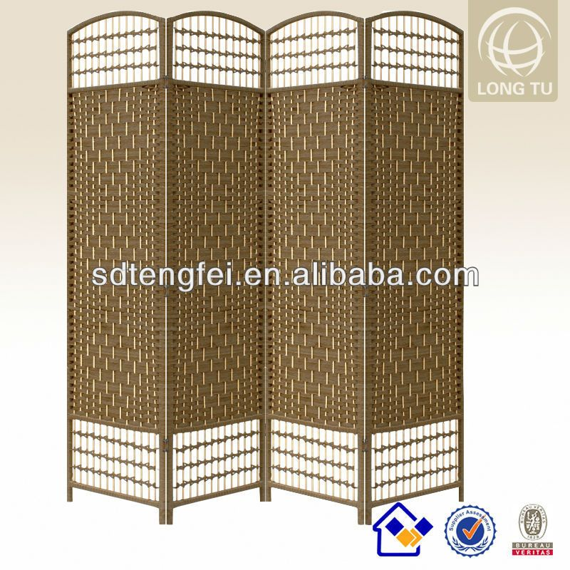 Cheap And Decorative Folding Screens Accordion Living Room Partition Wall Divider