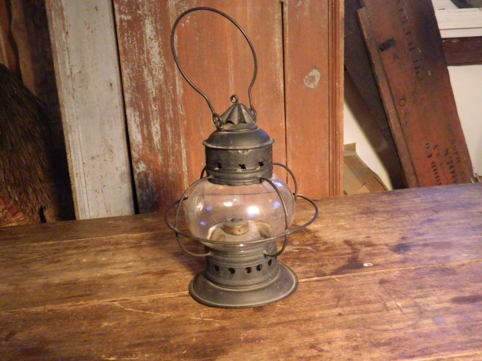 Household Other Collectible Lighting Lovely Antique Glass Shade Gas Wall Sconce Light Fitting C1870 Photogravure