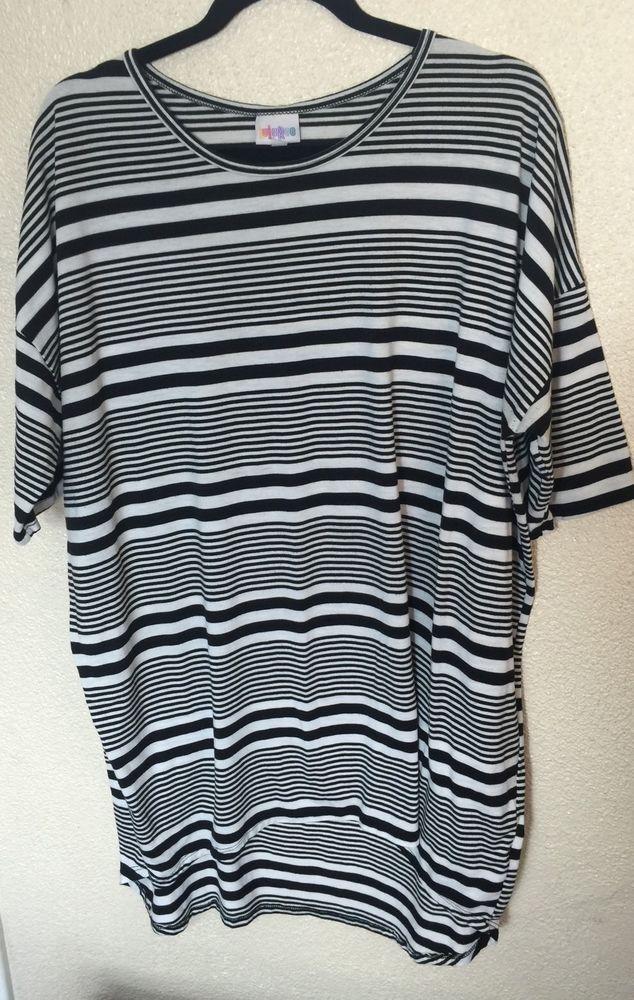 1f933e6d LuLaRoe Irma large NWY Grey stripe New with tag grey striped Irma