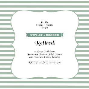 Finish Lines Free Printable Retirement Farewell Party Invitation