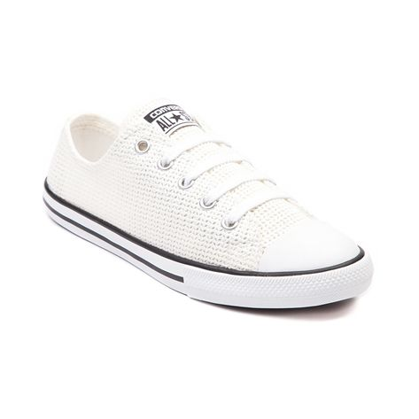 Shop for Womens Converse All Star Dainty Crochet Sneaker in White at Shi by  Journeys.