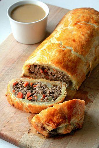 Minced Beef Wellington Recipe | Yummly