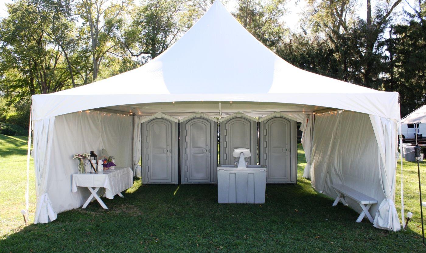Weddingrentalbathroomtentjpg Jamestown Awning And Party Tents - Bathroom rentals for weddings