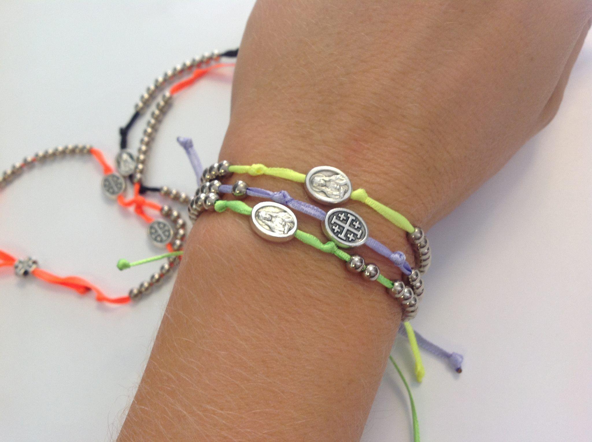 dc430ea8a1e  Bracciale con doppio  rosario in argento