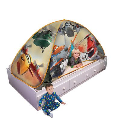Another great find on #zulily! Disney Planes Bed Tent by Disney•Pixar Planes #zulilyfinds