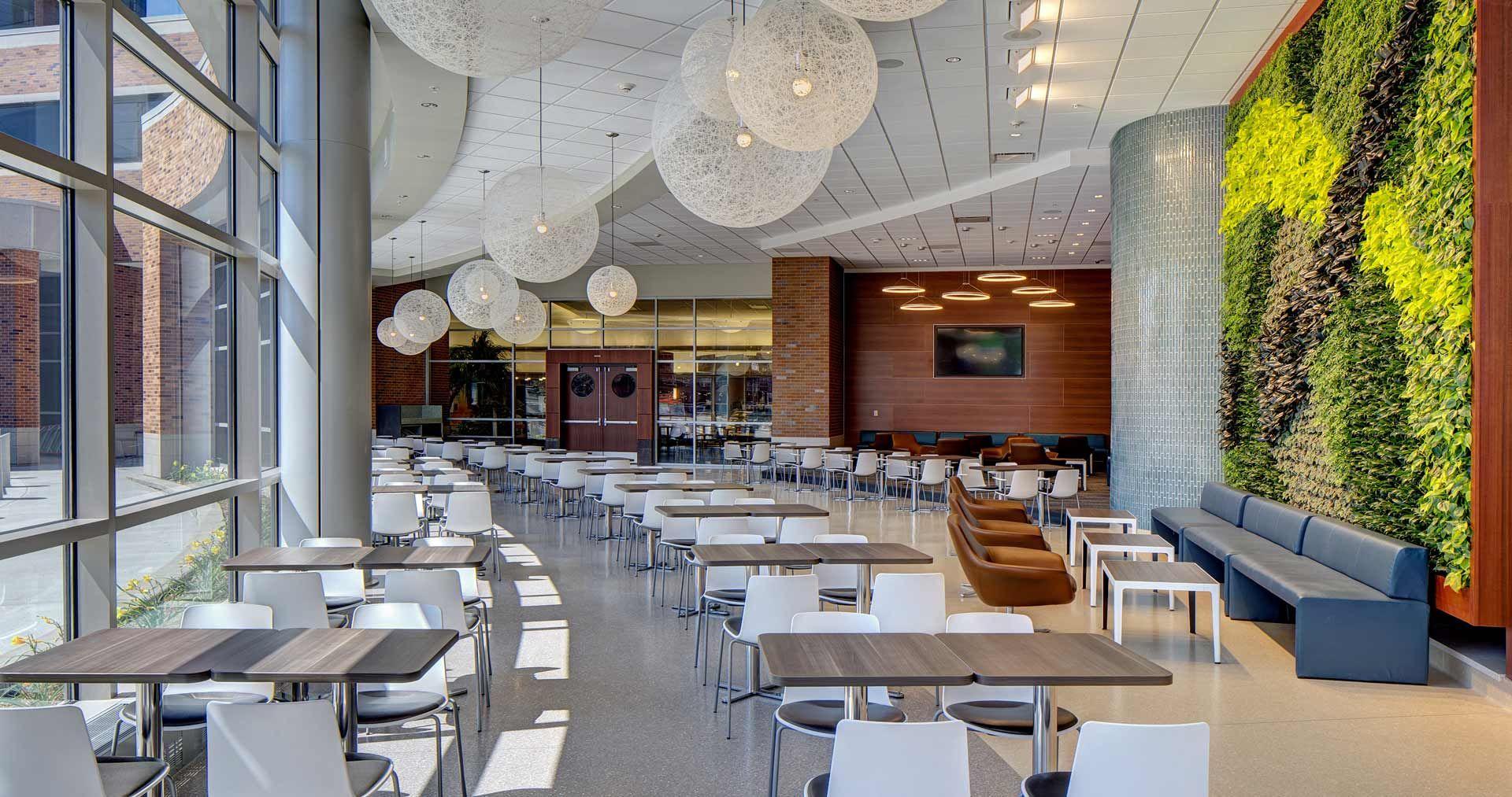 Sparrow Hospital With Images Cafeteria Design Hospital