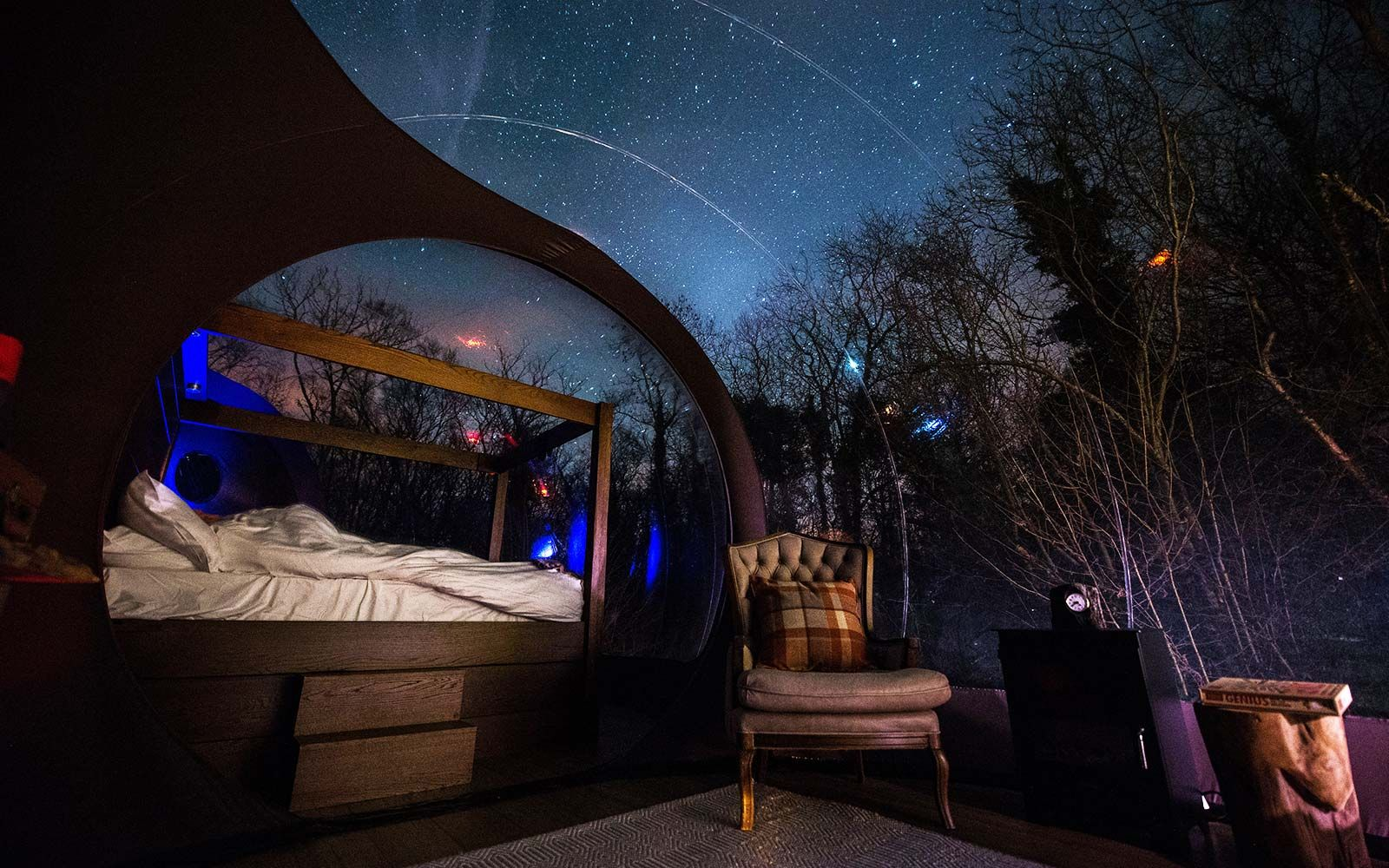 Image result for transparent under the stars airbnb rentals
