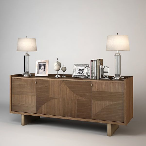 Barbara Barry Modern Maequetry Cabinet By Kupfer