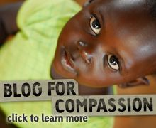 Compassion Bloggers- Excellent example of using other bloggers to advocate for a cause.