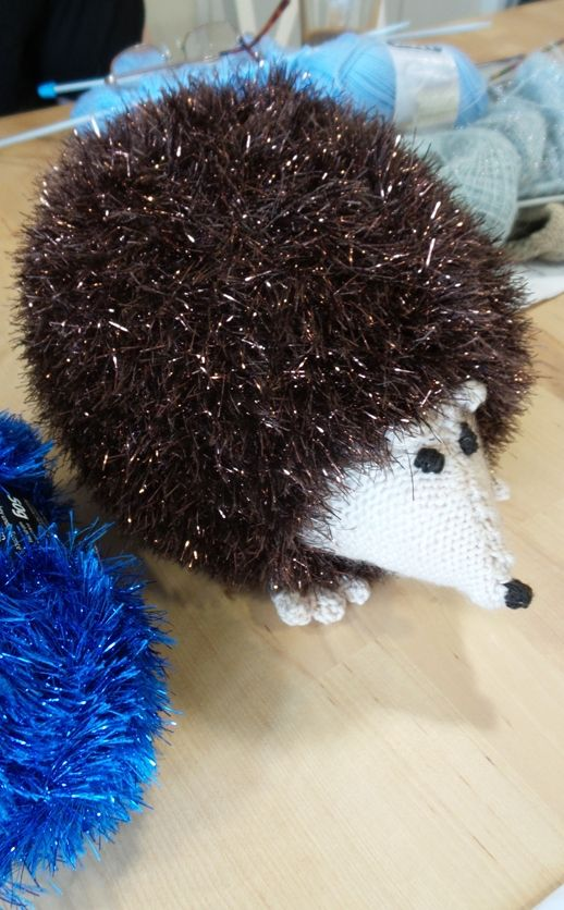 Ednas King Cole Tinsel Chunky Hedgehog Christmas Crafts