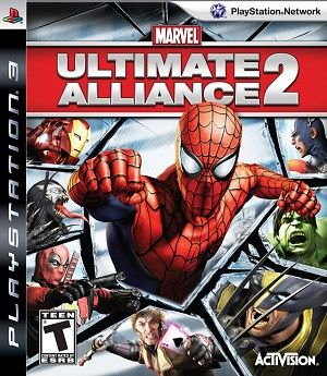Marvel Ultimate Alliance 2 Playstation 3 Game Marvel Ultimate