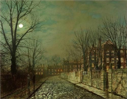 The Trysting Tree - John Atkinson Grimshaw