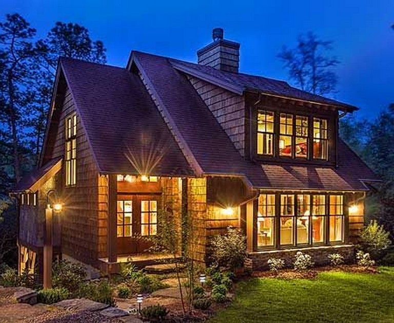 20 Finest Small Lake House To Escape From Daily Life Small Lake Houses Lake House Cabin Design