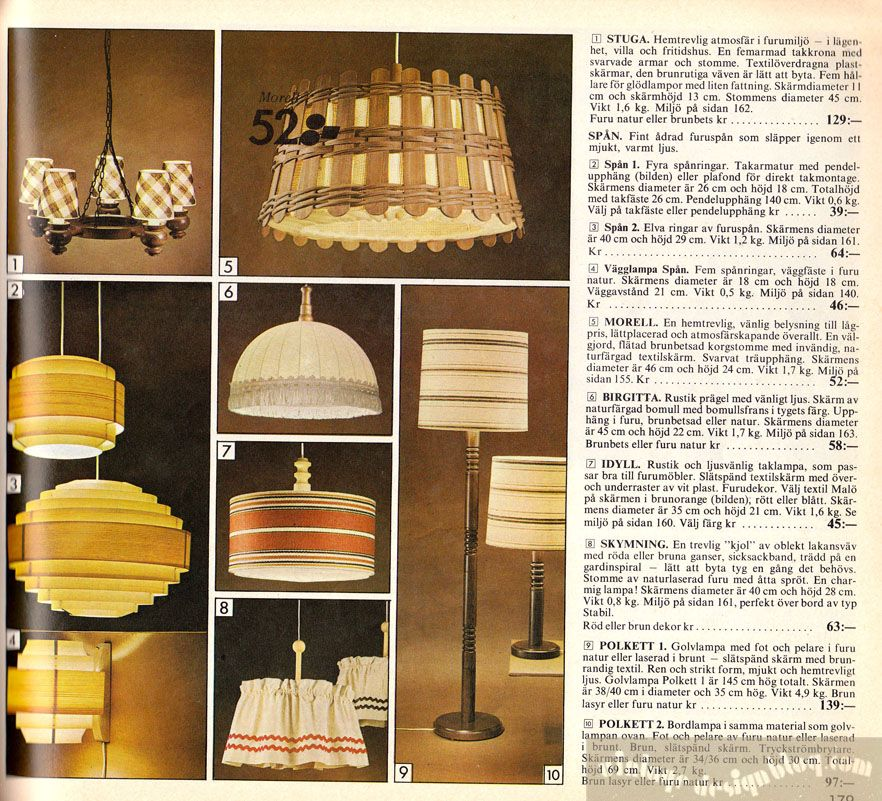 Ikea Lamp, Vintage Lighting, Ikea