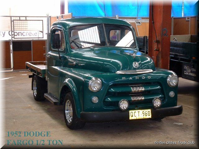 1952 Dodge Fargo Pikap Pikap