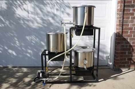 resultado de imagem para all grain home brewing equipment setup