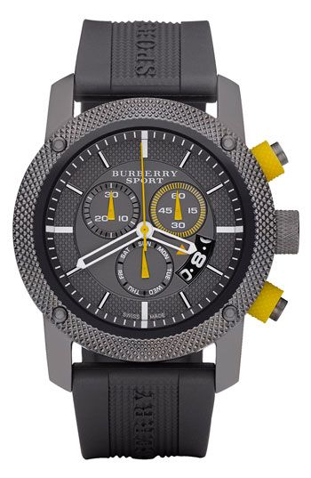 Burberry Sport Chronograph Watch available at  Nordstrom  6a21d612c9