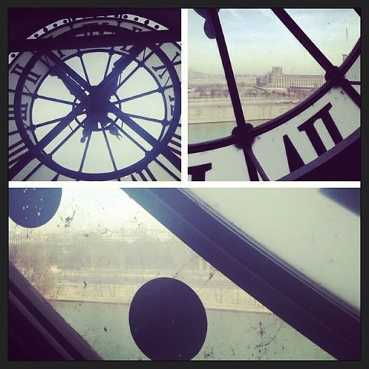 From inside the clock