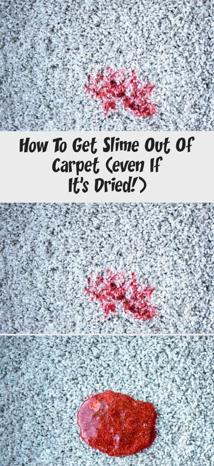 How To Get Slime Out Of Carpet Even If It S Dried Home Accesories In 2020 How To Clean Carpet Carpet Slime
