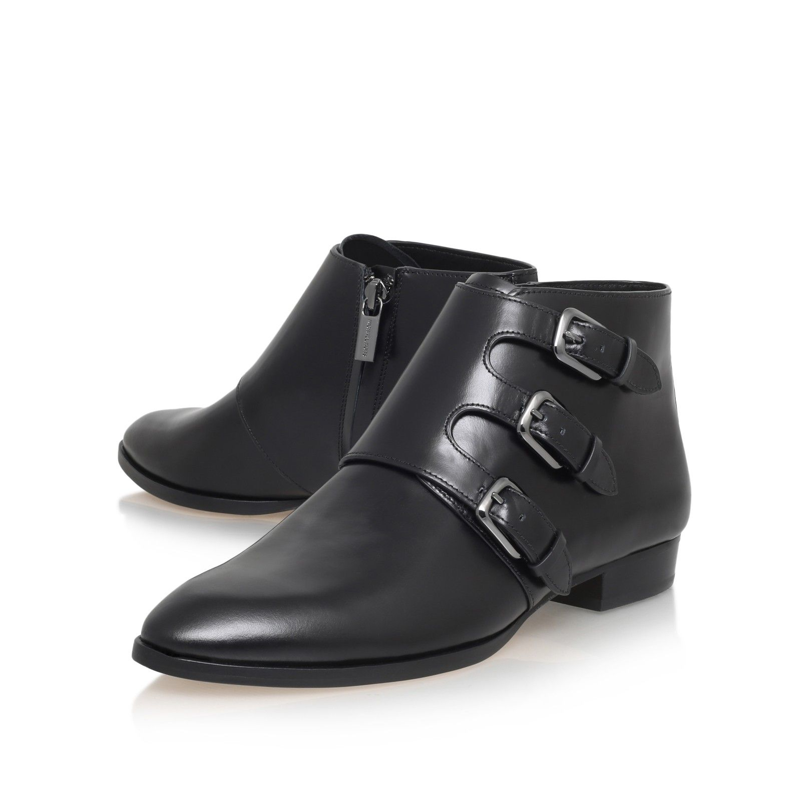 prudence flat bootie black flat ankle boots from Michael Michael Kors
